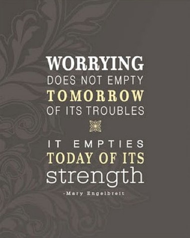 Easier said than done, but I'm working on it...Thoughts, Remember This, Strength, Wisdom, Corrie Ten Boom, So True, Living, Inspiration Quotes, Worry