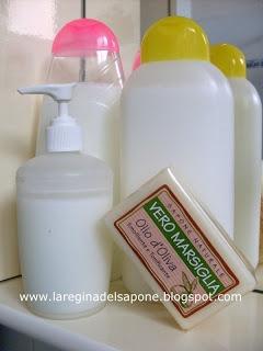 Come fare sapone di marsiglia liquido