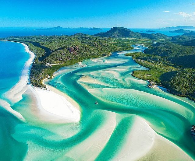 Whitehaven Beach, Australia   RePinned by : www.powercouplelife.com