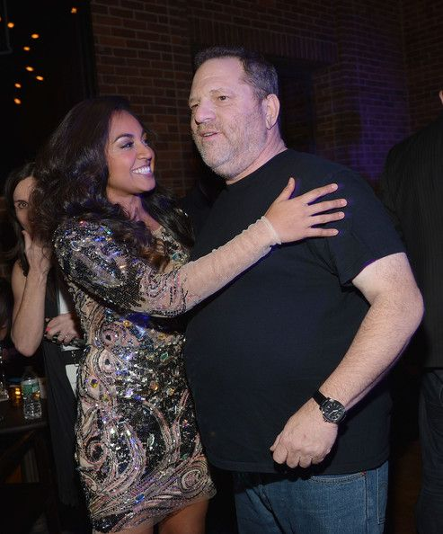 """Jessica Mauboy Photos Photos - Singer Jessica Mauboy (L) and film producer Harvey Weinstein attend """"The Sapphires"""" screening after party at Hudson Commons on March 13, 2013 in New York City. - 'The Sapphires' Screening in NYC"""