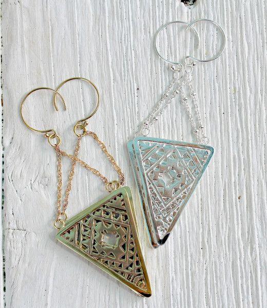 Aztec Earrings || view more colors