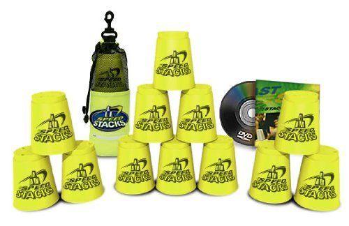 12 Neon Yellow Speed Stacks Cups - Speed Stacks Cups Neon Yellow (Sport Stacking / Cup Stacking) ♥