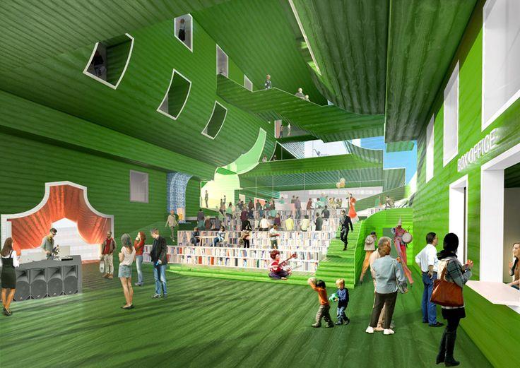 MVRDV zaanstad cultural cluster the netherlands designboom