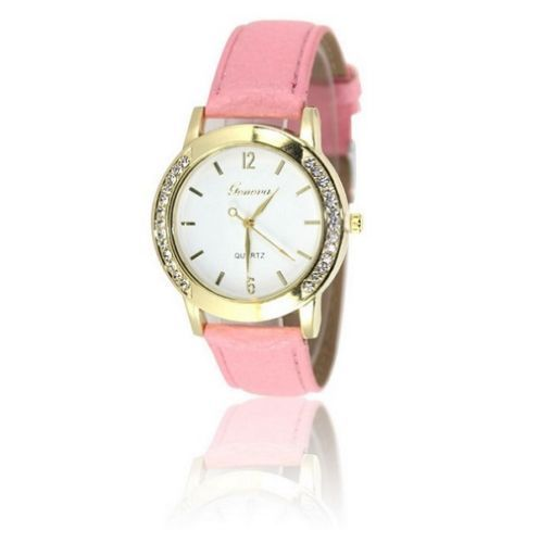 New-Women-Girls-Classic-Casual-Colors-Colorful-Analog-Quartz-Watch-Wristwatches