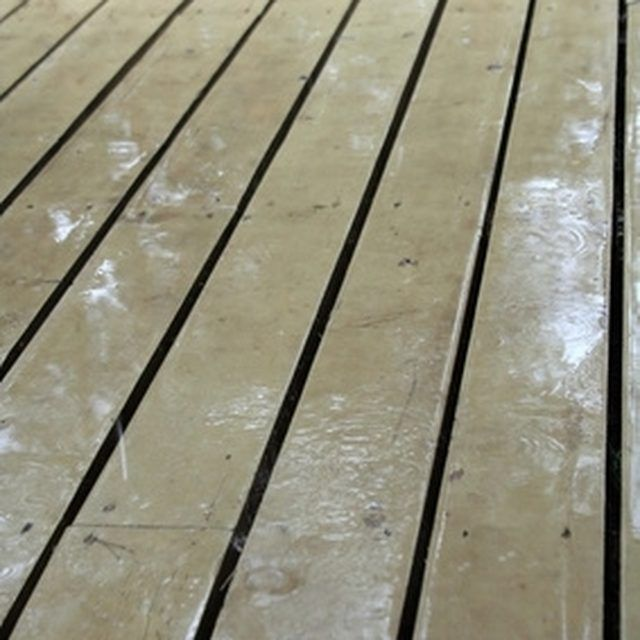 How Do I Build A Waterproof Ceiling Under A Deck