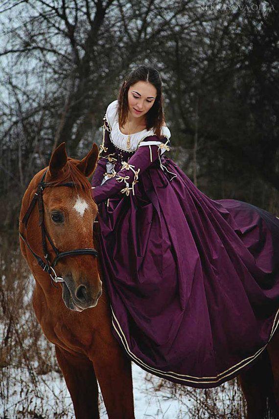 Violet de Renaissance du XVe siècle italien par FiorentinaCostuming
