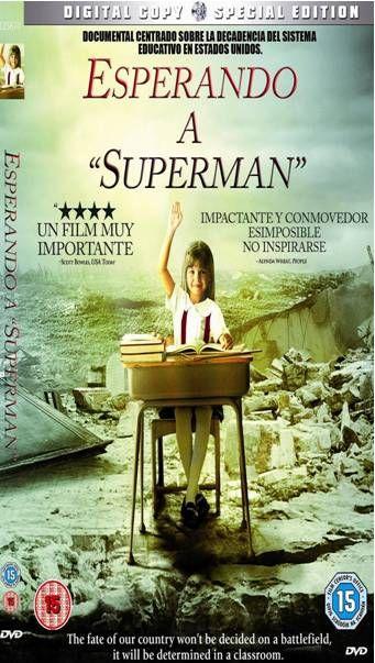 ESPERANDO A SUPERMAN (2010).  Davis  Guggenheim.  Un documental que mostra, d'una manera crítica, la realitat de l'educació als EEUU. #recomanacions #cinemaimes #societat. Diponible a:  http://elmeuargus.biblioteques.gencat.cat/search~S125*cat?/XDavis++Guggenheim+dvd&searchscope=125&SORT=DZ/XDavis++Guggenheim+dvd&searchscope=125&SORT=DZ&extended=0&SUBKEY=Davis++Guggenheim+dvd/1%2C2%2C2%2CB/frameset&FF=XDavis++Guggenheim+dvd&searchscope=125&SORT=DZ&1%2C1%2C