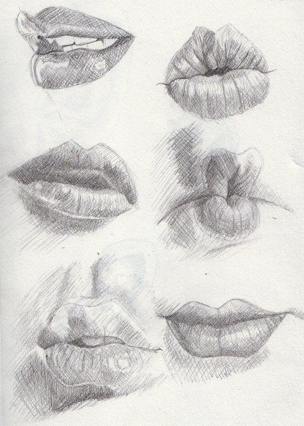 губы фото картинки нарисовать