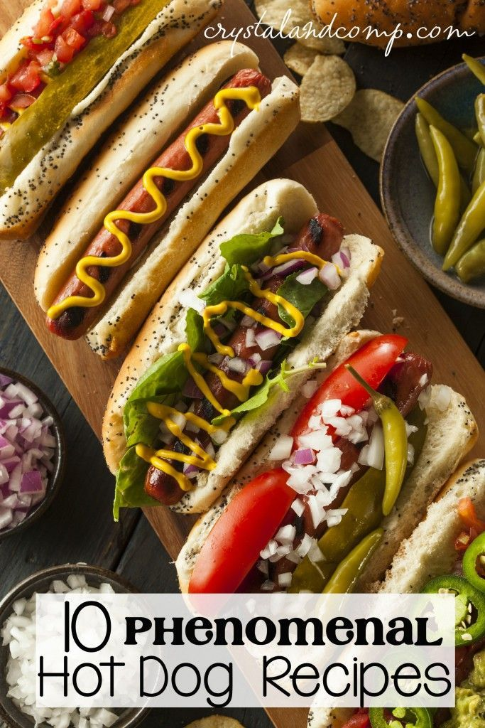 10 hot dog recipes you will love