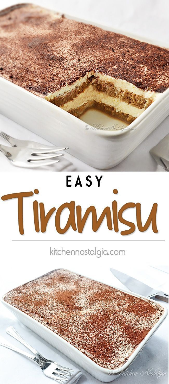 Easy Tiramisu Recipe !