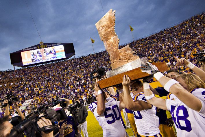 LSU Football 2014 Schedule Released; A on Thanksgiving Day - And The Valley Shook