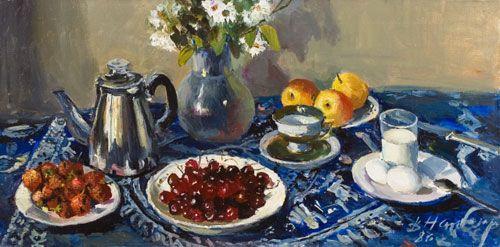 Утренний завтрак, 1987 = Дмитрий Налбандян