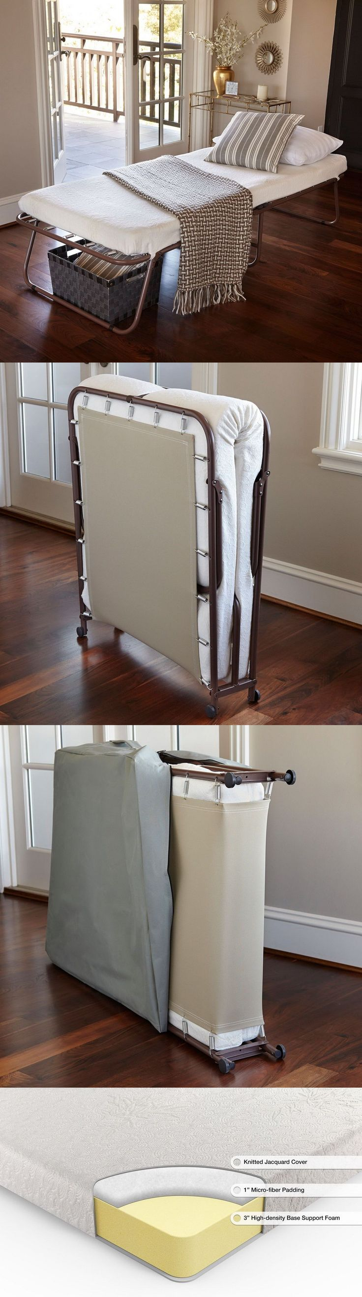 Hideaway Guest Bed Best 25 Folding Guest Bed Ideas On Pinterest Folding Beds Diy