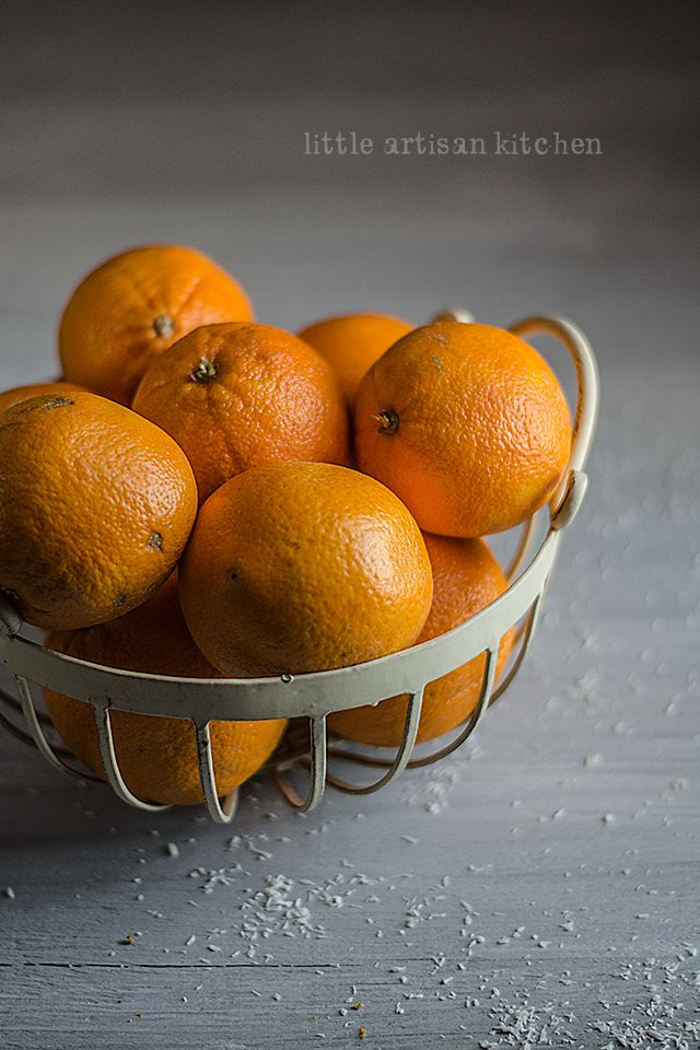 Oranges by Little Artisan Kitchen