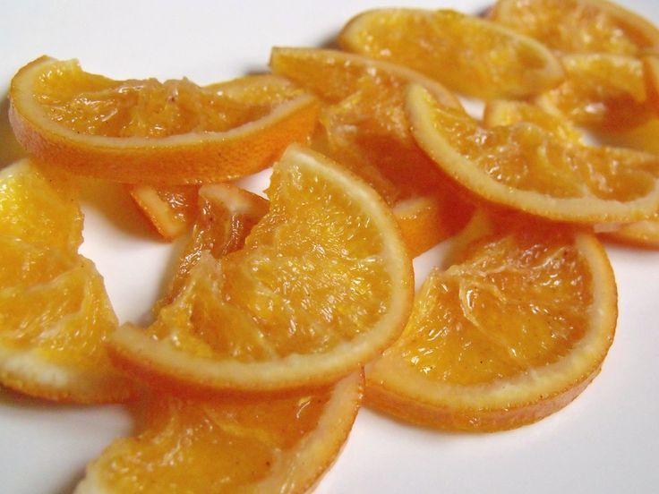 Citromhab: Kandírozott narancs