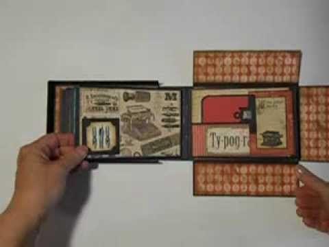 58 Best Boxed Mini Album Images On Pinterest Mini Scrapbooks Mini