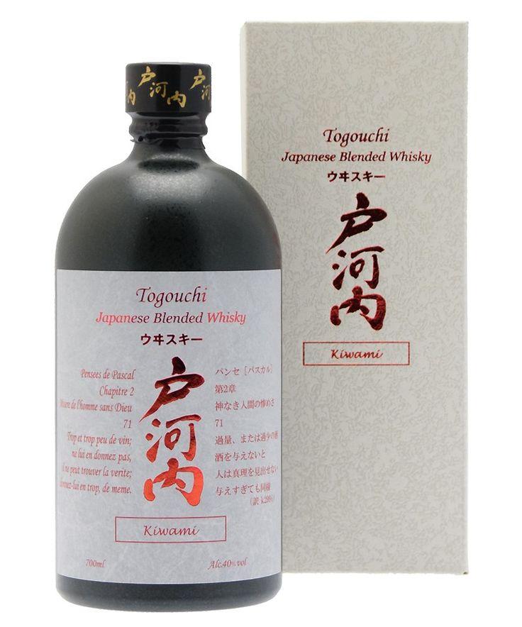 Togouchi Kiwami 70cl 40°, assemblage unique de whiskies japonais. #whisky #japon