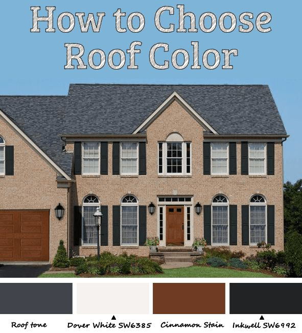 good house roof colors #1: Best 25+ Roof colors ideas on Pinterest | Metal roof houses, Metal roof  paint and Metal roof colors