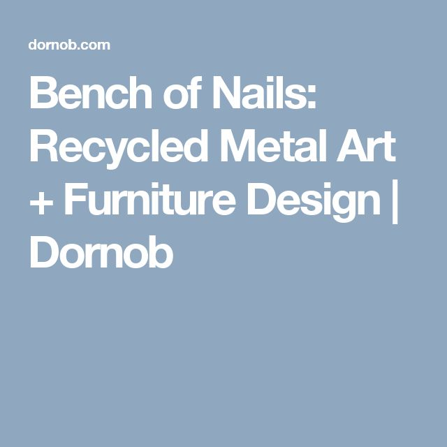17 Best Ideas About Recycled Metal Art On Pinterest