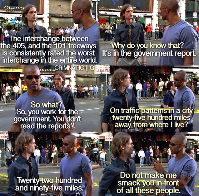 criminal minds, spencer reid, derek morgan, one of the most amusing interactions between the two of them.