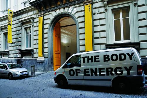 Read the article here: http://www.glendacinquegrana.com/it/2015/07/interwiew-stefano-cagol-glenda-cinquegrana/ Stefano Cagol, The Body of Energy (of the mind): Museo MADRE, 2015, foto Museo MADRE, 12 marzo 2015 © Stefano Cagol
