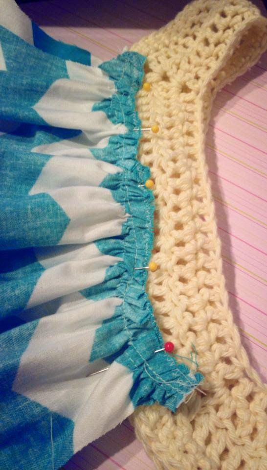 Tales of a Crafty Mommy: Fabric + Crochet Sundress Tutorial