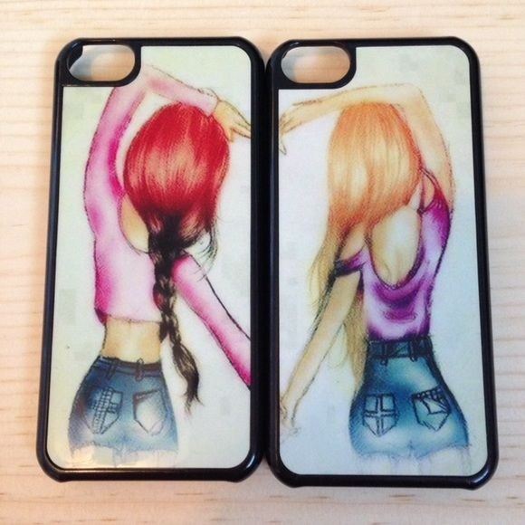 iPhone 5c best friend cases best friends cases (comes with both) Accessories Phone Cases