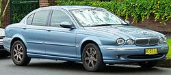 The X-Type is a compact executive car manufactured and marketed for model years 2001-2009 by Jaguar Cars. The smallest of the Jaguar