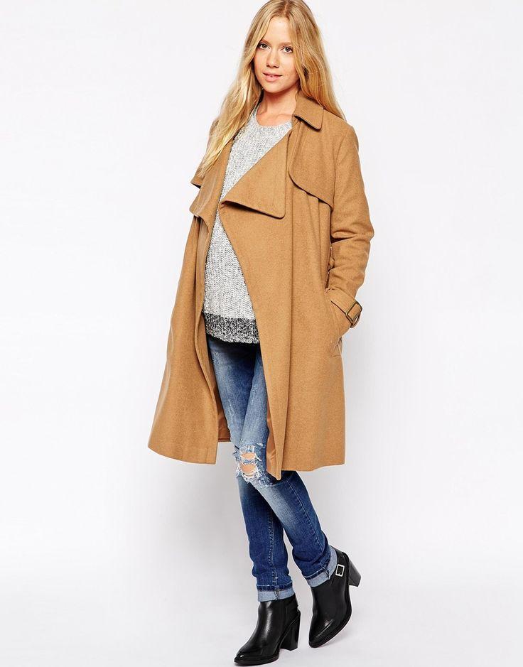 ASOS maternity coat / maternity jacket