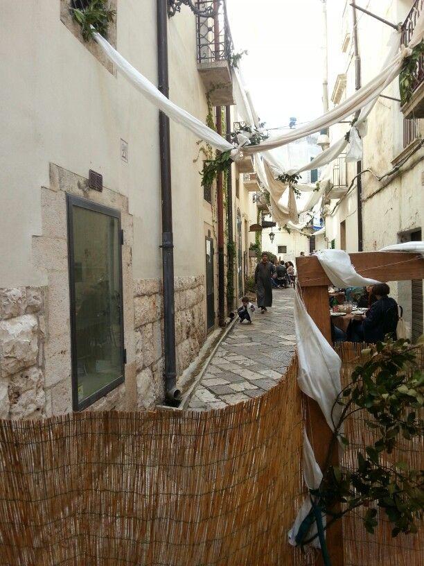 Altamura, strade e balconi