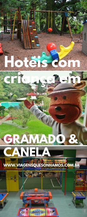 Conheça os melhores hotéis para se hospedar com criança em Gramado e Canela, vantagens e desvantagens e qualidades para ajudar você a ter uma ótima experiência em família.
