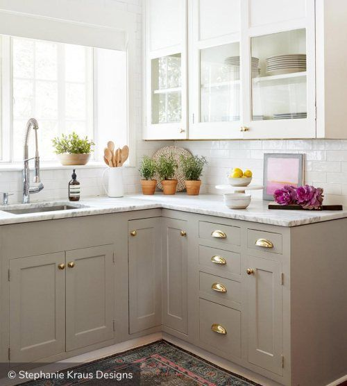 Kitchen Cabinets Two Tone: Best 329 Two Tone Kitchen Cabinets Ideas For 2018 Ideas On