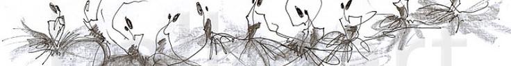Ballet Art found on Etsy...Amazing original sketches