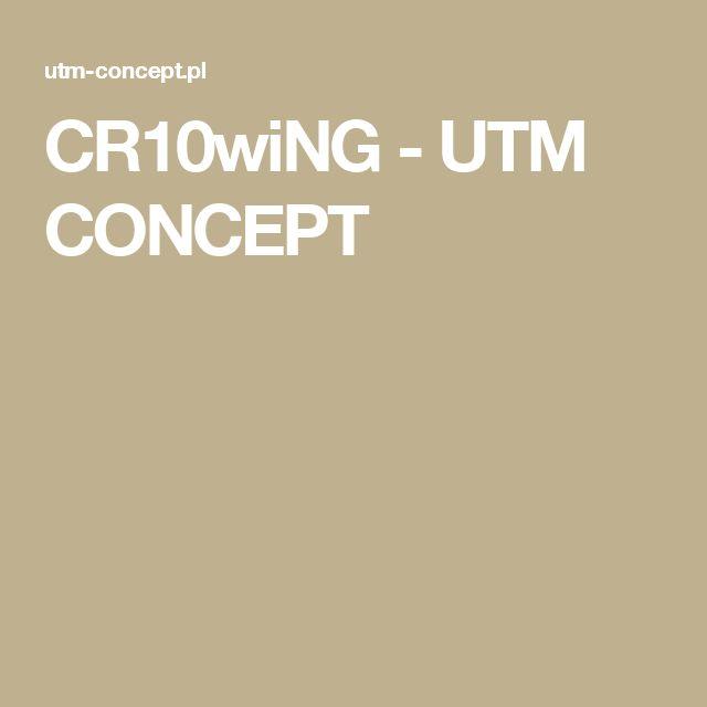 CR10wiNG - UTM CONCEPT