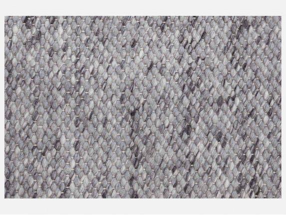 Sirius Stone Dywan Wełniany Ręcznie Pleciony Szary 140x200 cm