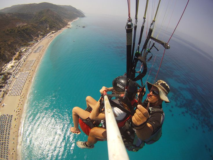 Paragliding and paramotoring in Greece | A Greek Adventure