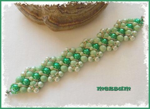 Tekla karkötő zöld színben