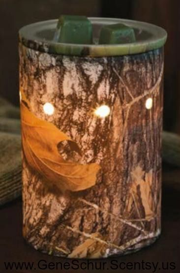 Mossy oak camp scentsy warmer! I just bought mine! My sister sells scentsy so let me know if you wanna buy!