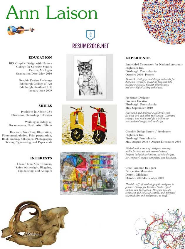 20 best professional CV images on Pinterest Professional cv - graphic artist resume sample