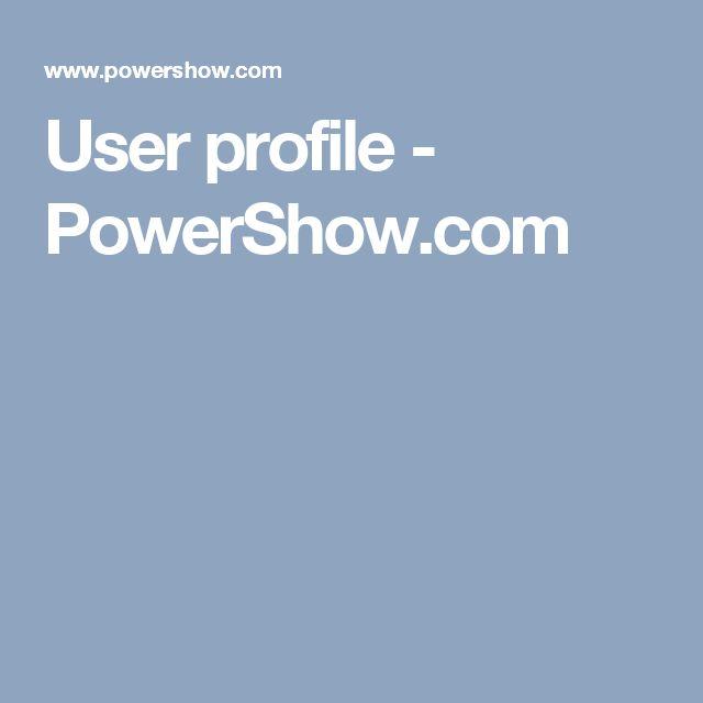 User profile - PowerShow.com