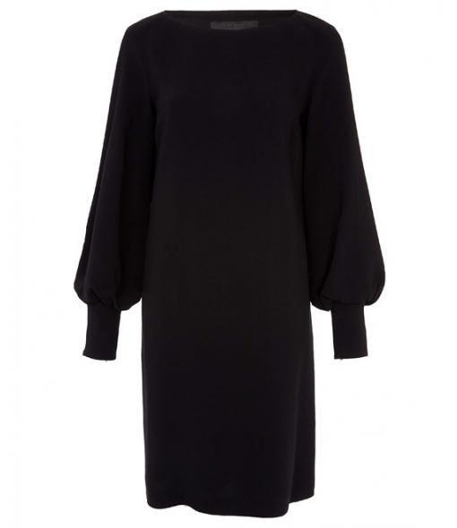 Black Rosunal Stretch-Crepe Dress size 10  #Matchesfashion