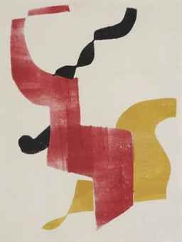 Hot Printing 12 (Compositie) H. N. Werkman