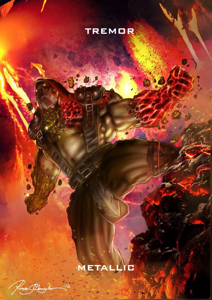 Mortal Kombat X Tremor- Metallic Variation by Grapiqkad.deviantart.com on @DeviantArt