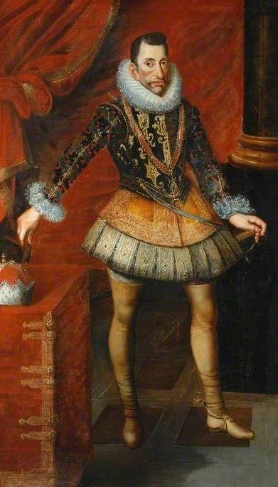 Archduke Albert of Austria, Governor of The Netherlands, 17th century, by Juan Pantoja de la Cruz