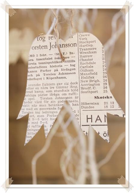 Siipiä vanhasta sanomalehdestä