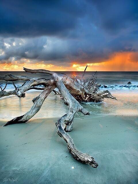 Sunrise on Jekyll Island, Georgia