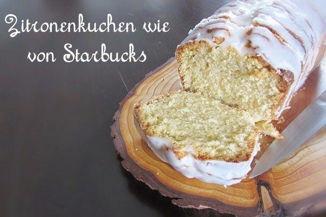 Zitronenkuchen wie von Starbucks