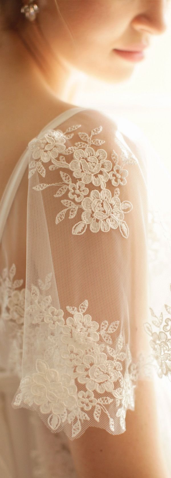 Sleeves on wedding dresses! Love this shot of the Maymie dress my Ailsa Munro photo by Rachel Rose