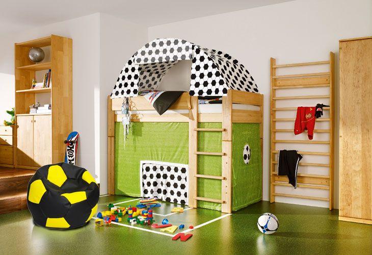 #pokój młodego #piłkarza!  Jak Wam się podoba?  #pufy #piłkanożna #dzieci