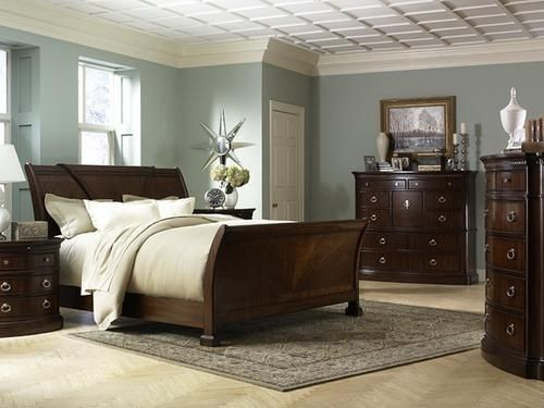 What Color To Paint Bedroom With Dark Furniture Blue Bright